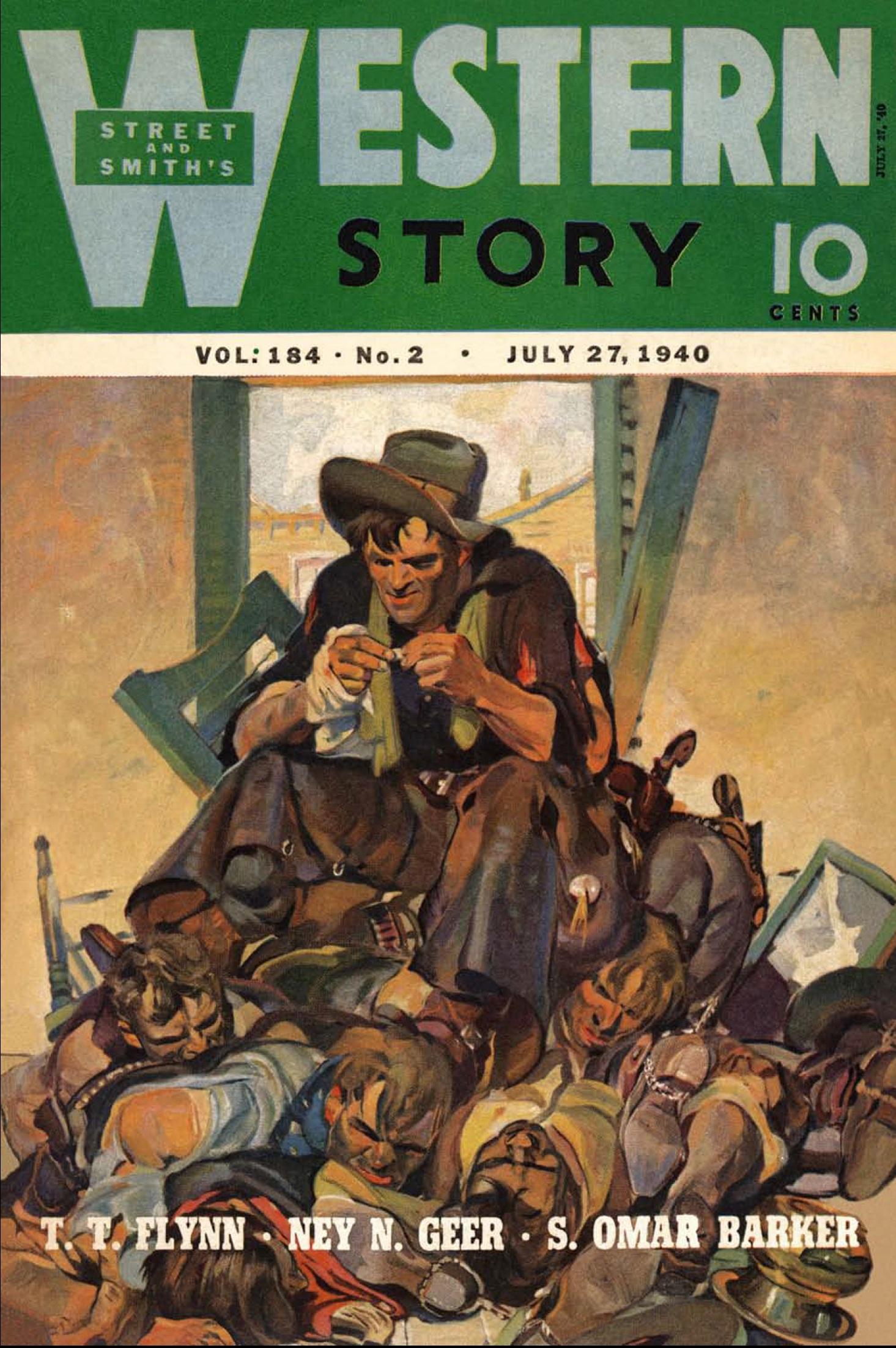 Western Story Magazine - January 9, 1937 - Pulp Magazine